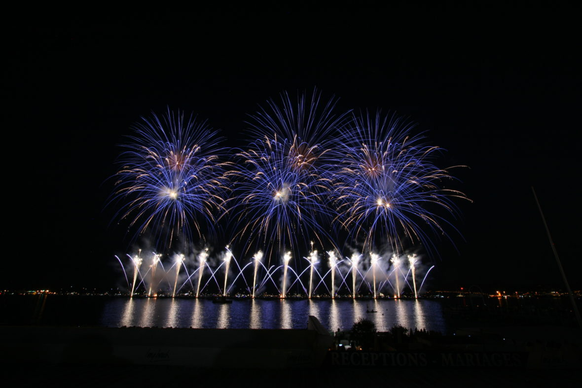 Feu d'artifice Cannes