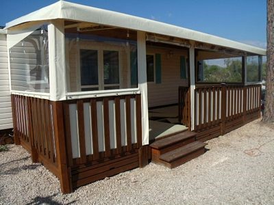 vacances camping chalet